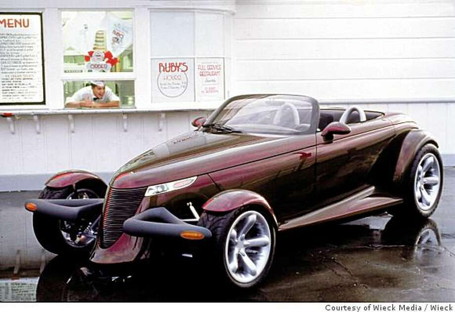 The Plymouth Prowler, produced between 1997 and 2007, made it to market with few changes from its prototype. Photo: Courtesy Of Wieck Media, Wieck