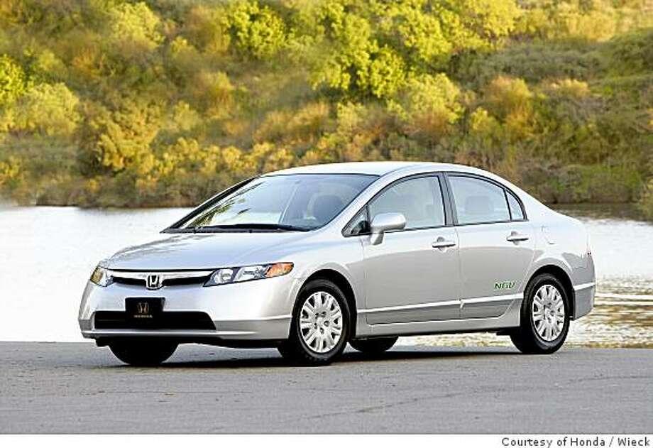 2008 Honda Civic GX Photo: Courtesy Of Honda, Wieck