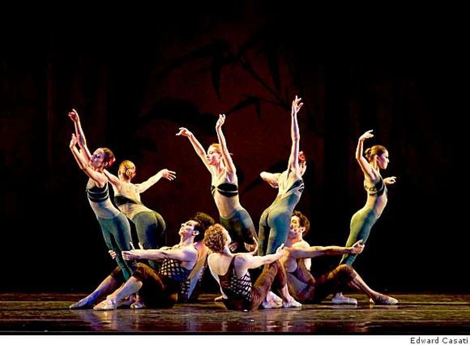 "Oakland Ballet - ""Bamboo"" Photo: Edward Casati"
