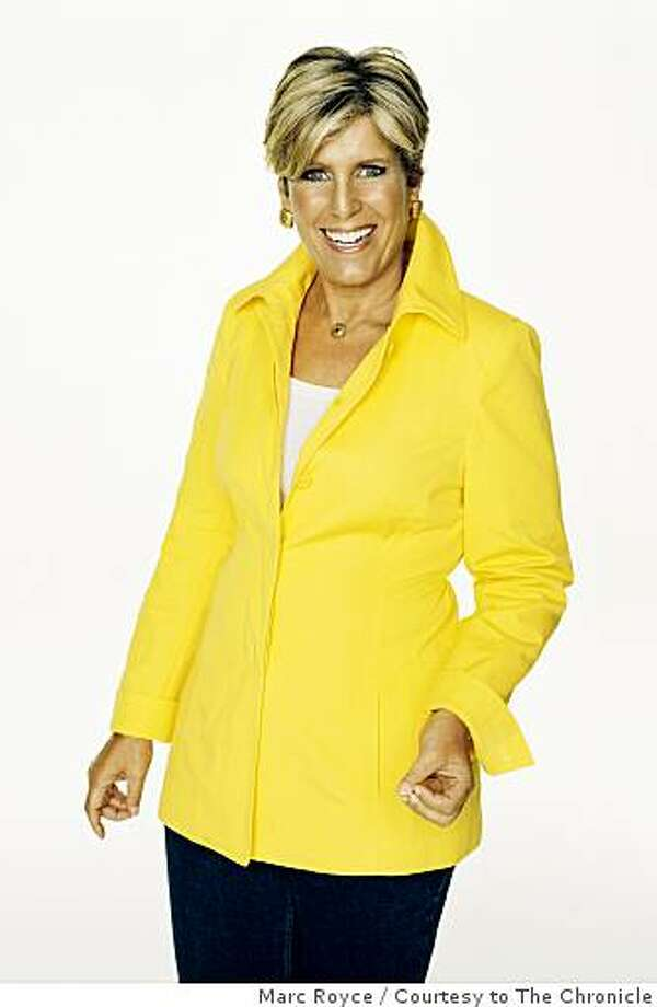 Personal finance guru and TV personality Suze Orman. Photo: Marc Royce, Courtesy To The Chronicle