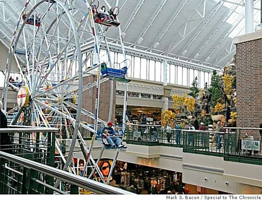 The giant Scheels sporting goods store in Sparks, Nev., featrues a Ferris wheel. Photo: Mark S. Bacon, Special To The Chronicle