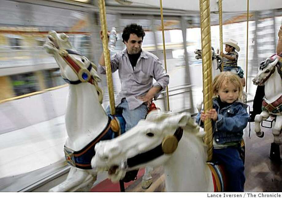 100-year-old Carousel at Zeum Photo: Lance Iversen, The Chronicle