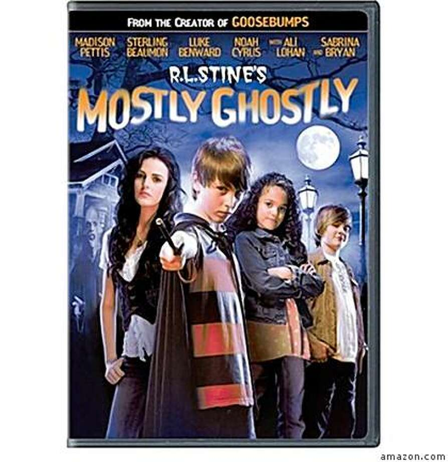 dvd cover R.L. STINE'S MOSTLY GHOSTLY Photo: Amazon.com