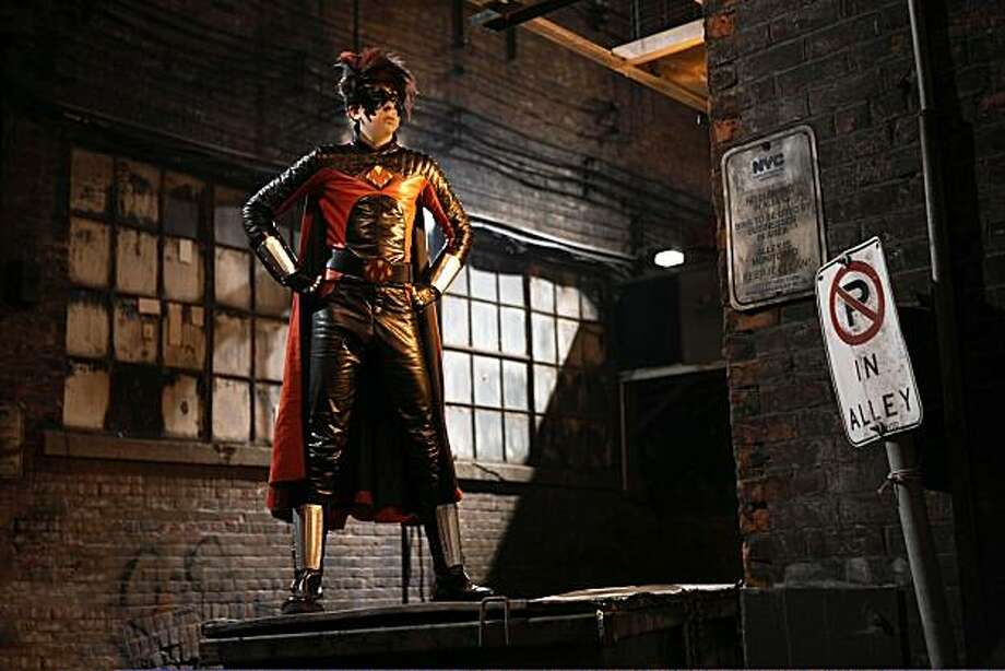 Christopher Mintz-Plasse stars as 'Red Mist' in KICK-ASS. Photo: Dan Smith, Lionsgate