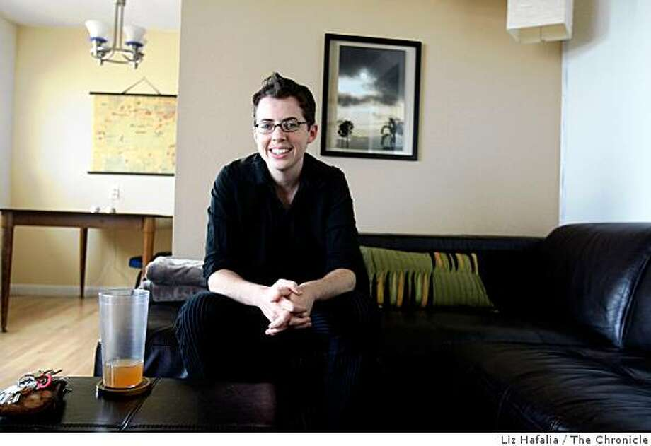 Filmmaker Simone Grudzen at home in San Francisco, Calif., on Friday, September 19, 2008. Photo: Liz Hafalia, The Chronicle
