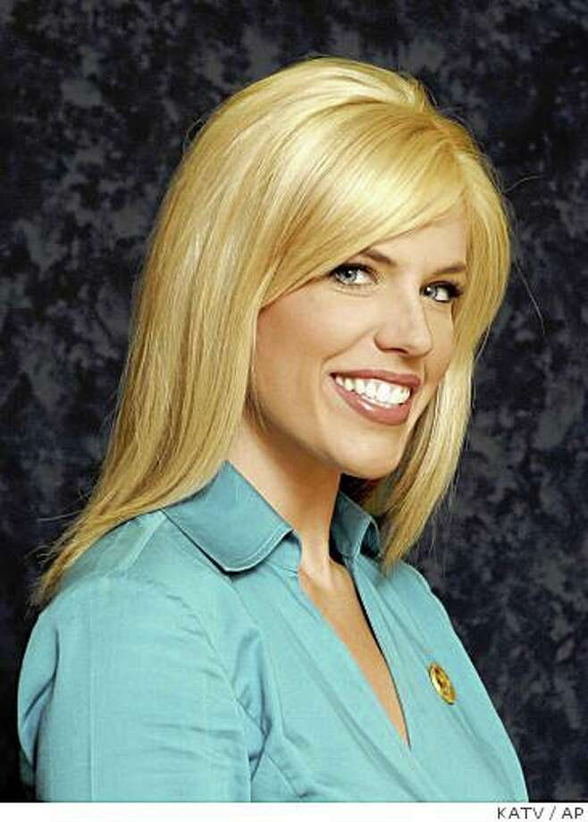 In this photo released by KATV Television Monday, Oct. 20, 2008, news anchor Anne Pressly, 26, is shown in a June 26, 2008, photo in Little Rock, Ark.  Pressly, 26, a popular TV anchorwoman remained in critical condition Monday after she was stabbed and beaten in her home, for reasons not yet known.  (AP Photo/KATV Television) ** NO SALES ** Photo: KATV, AP