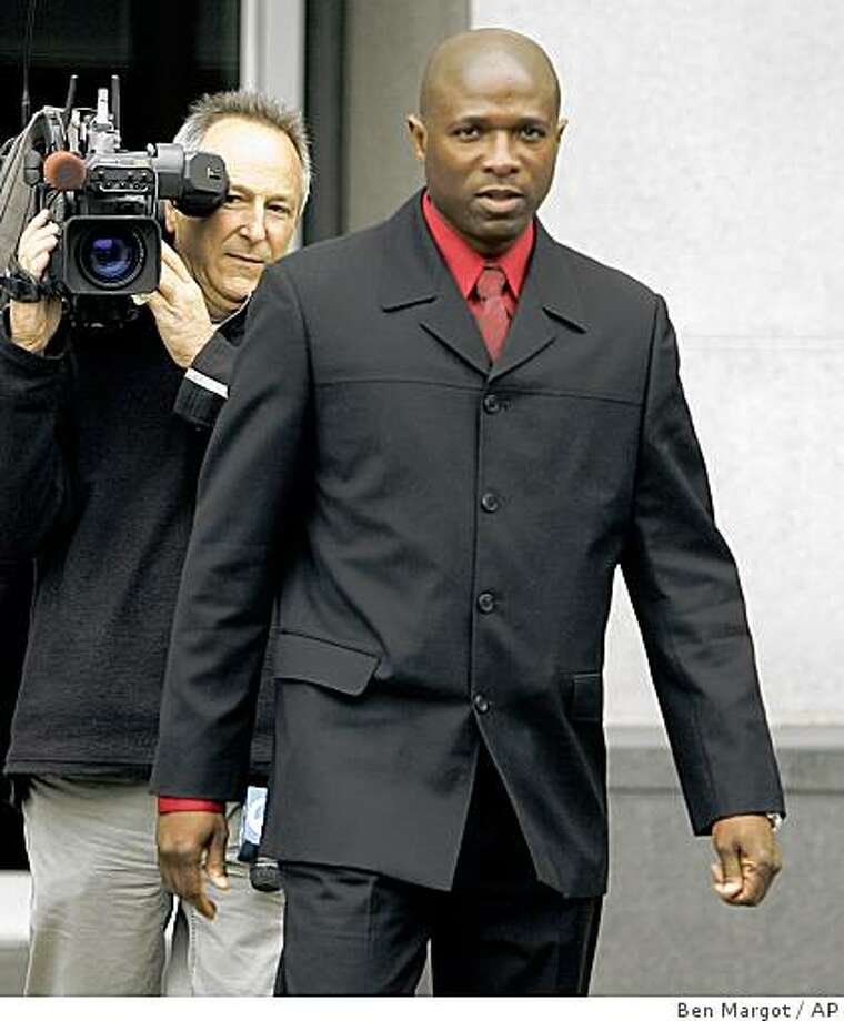 ** FILE ** In this , Nov. 16, 2006, file photo, Track coach Trevor Graham exits the Federal building in San Francisco. Graham orchestrated a doping scheme for his elite track athletes and lied to federal investigators about his role in it, the prosecution said in closing arguments of Graham's trial on Tuesday May 27, 2008 in San Francisco. (AP Photo/Ben Margot, File) Photo: Ben Margot, AP