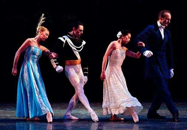 Dance review ballet san jose sfgate for Antony tudor jardin aux lilas