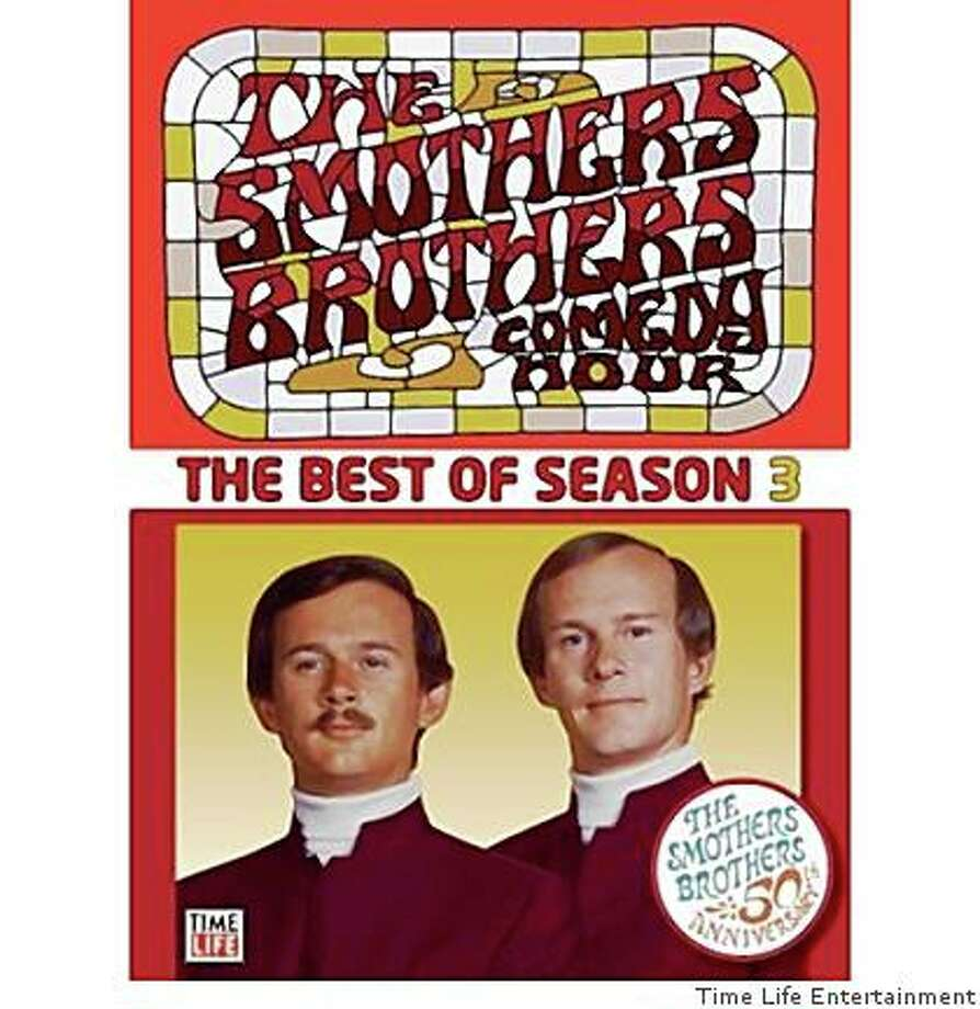 DVD cover: The Smothers Brothers Comedy Hour: The Best of Season 3 Photo: Time Life Entertainment