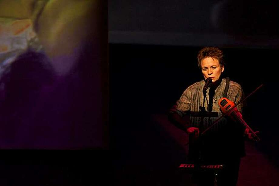 "Laurie Anderson in ""Delusion"" Photo: Leland Brewster"