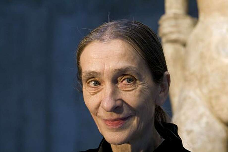 """Pina Bausch, in a scene from """"Dancing Dreams,"""" a 2010 documentary about a performance of a piece designed by choreographer Bausch. Photo: Yerba Buena Center For The Arts"""