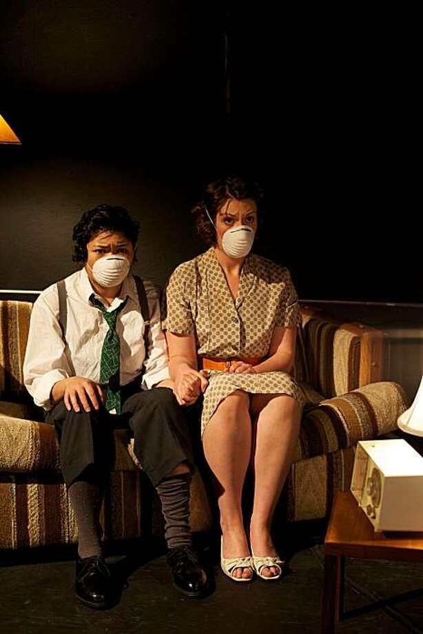 "El Beh & Allison Combs in ""Rhino."" Photo: Peter Liu"
