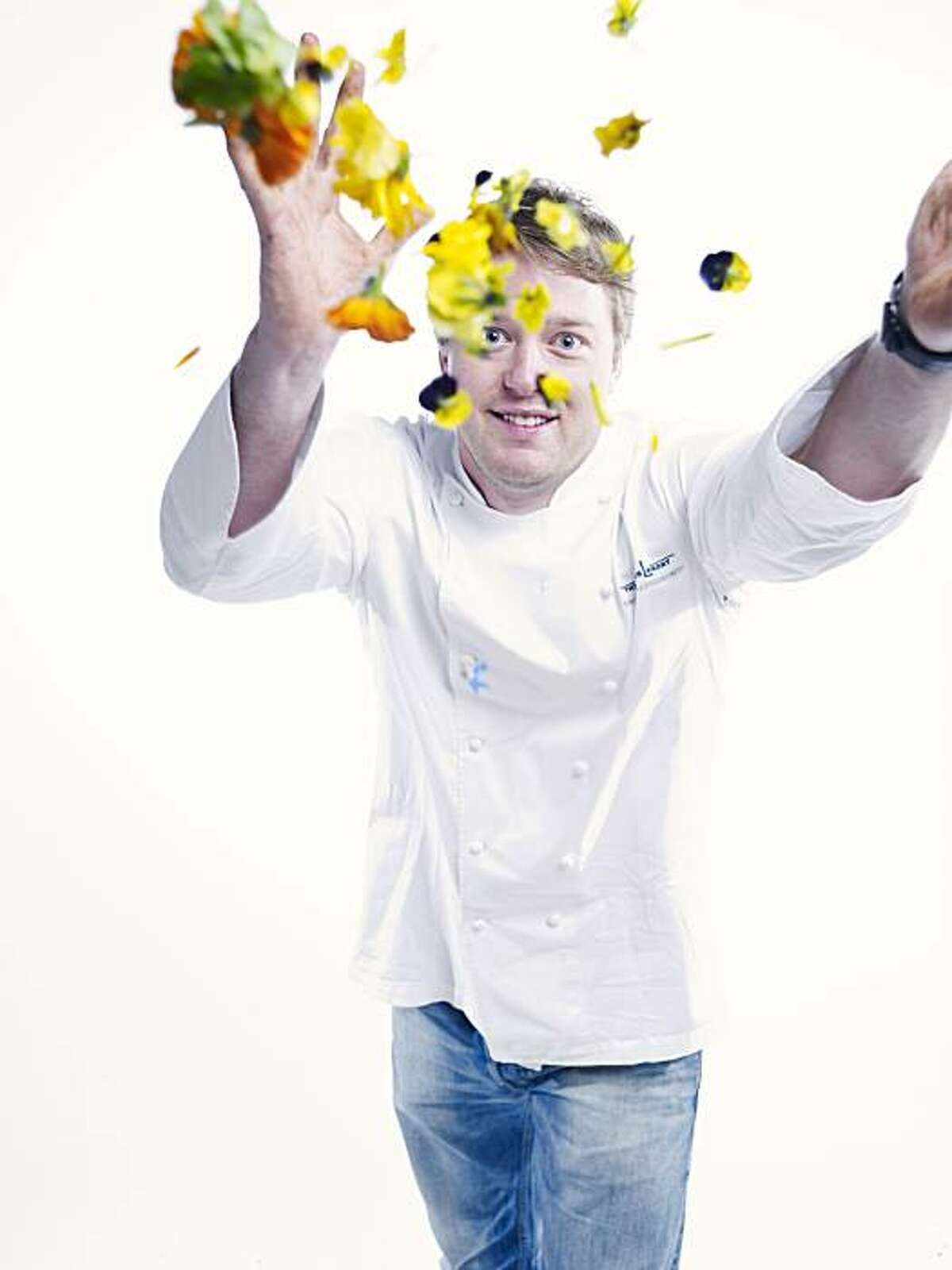 Timothy Hollingsworth, chef de cuisine at the French Laundry in Yountville. Photo taken in the Chronicle photo studio.
