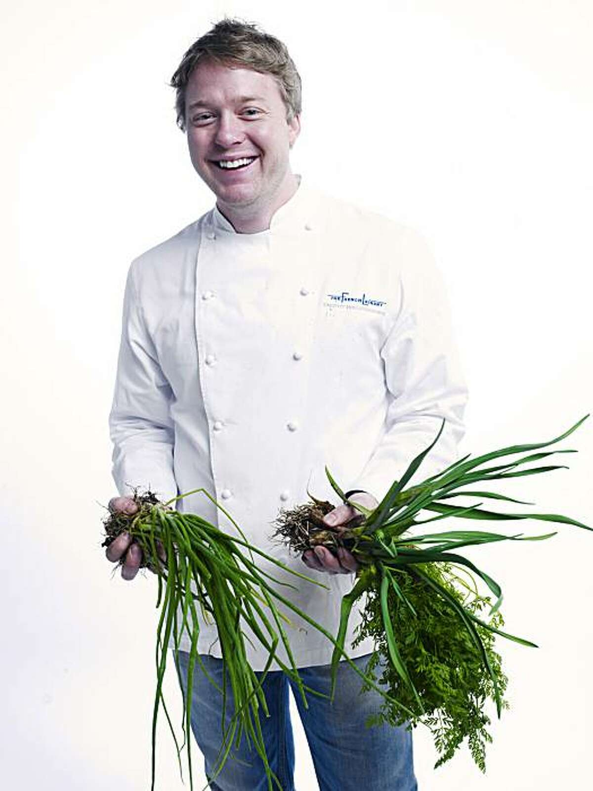 RISINGSTARS_HOLLINGSWORTH04_JOHNLEEPICTURES.JPG Timothy Hollingsworth, chef de cuisine at the French Laundry in Yountville. Photo taken in the Chronicle photo studio. By JOHN LEE/SPECIAL TO THE CHRONICLE