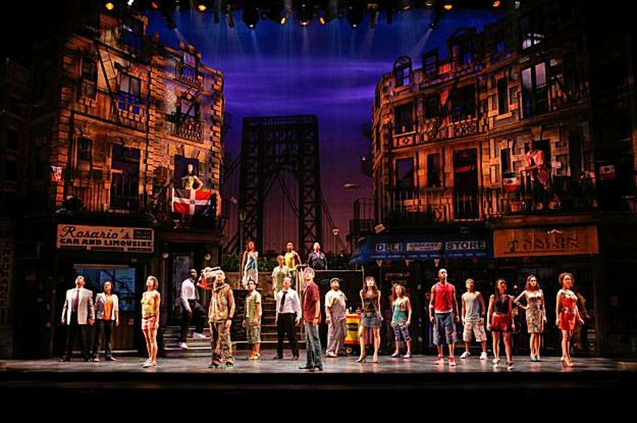 "The national touring company of  ""In the Heights."" Photo: Joan Marcus"