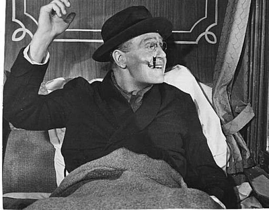 "Ralph Bellamy as Franklin D. Roosevelt in ""Sunrise at Campobello."" Photo: Warner Bros. 1960"