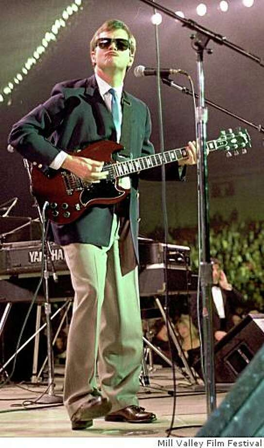 """""""Boogie Man: The Lee Atwater Story,"""" featured in the 2008 Mill Valley Film Festival.P00138-13   RNC Chairman Lee Atwater plays the guitar at the Celebration for Young Americans at the DC Armory,21 Jan 89.Photo Credit:  George Bush Presidential Library and Museum Photo: Mill Valley Film Festival"""