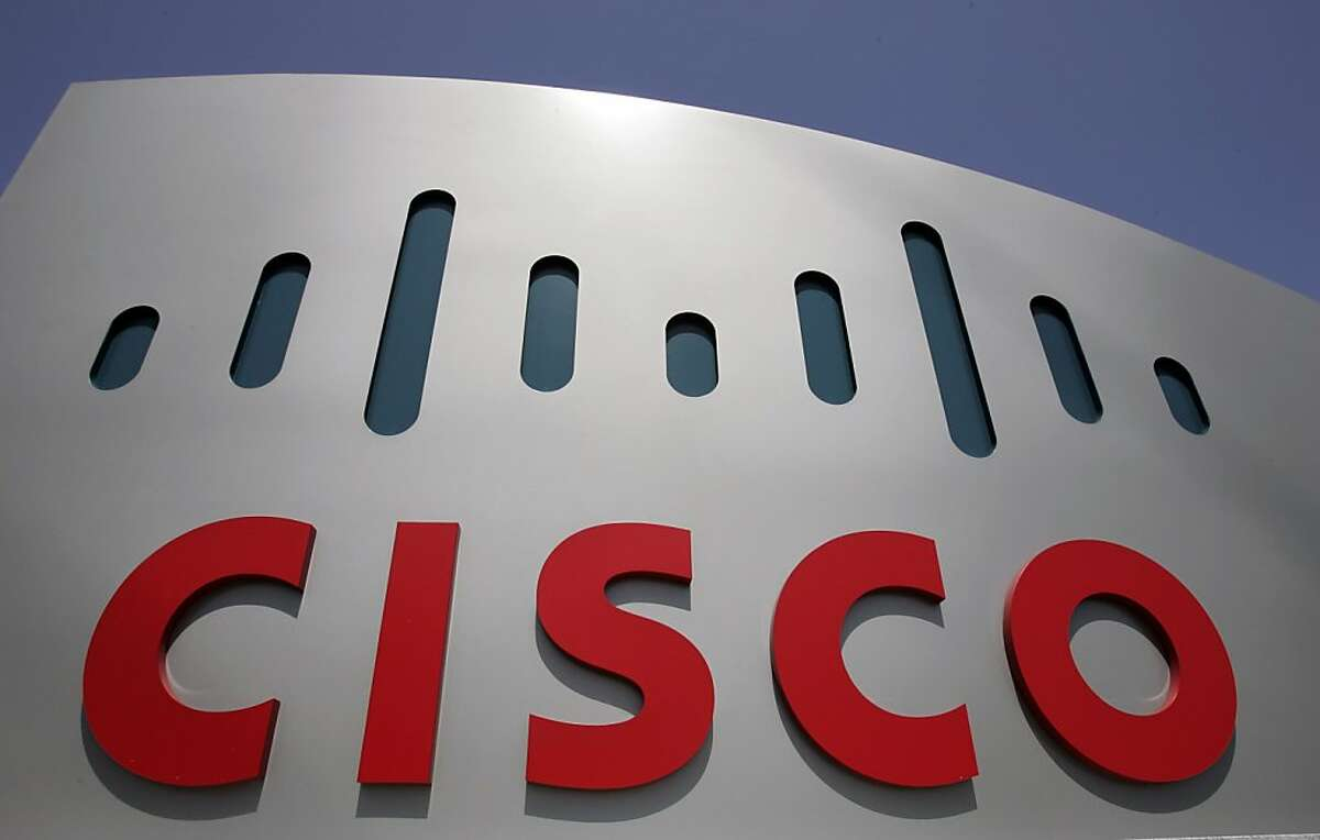FILE - In this May 5, 2008 file photo, a Cisco sign is shown at Cisco Systems Inc. headquarters in San Jose, Calif. Cisco Systems reports fourth-quarter earnings after the market close, Wednesday, Aug. 5, 2009. (AP Photo/Paul Sakuma, file)