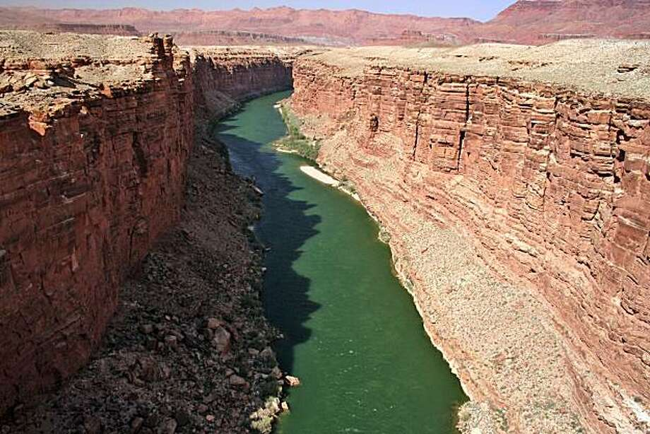 "Contamination of the Colorado River is just one concern about uranium mining claims. ""If you can't stop mining at the Grand Canyon, where can you stop it?"" asks one opponent. Illustrates URANIUM (category a) by Judy Pasternak (c) 2008, Los Angeles Times. Moved Friday, May 9, 2008. (MUST CREDIT: Photo courtesy of Taylor McKinnon, Center for Biological Diversity.) Photo: Taylor McKinnon, Center For Biological Diversity"
