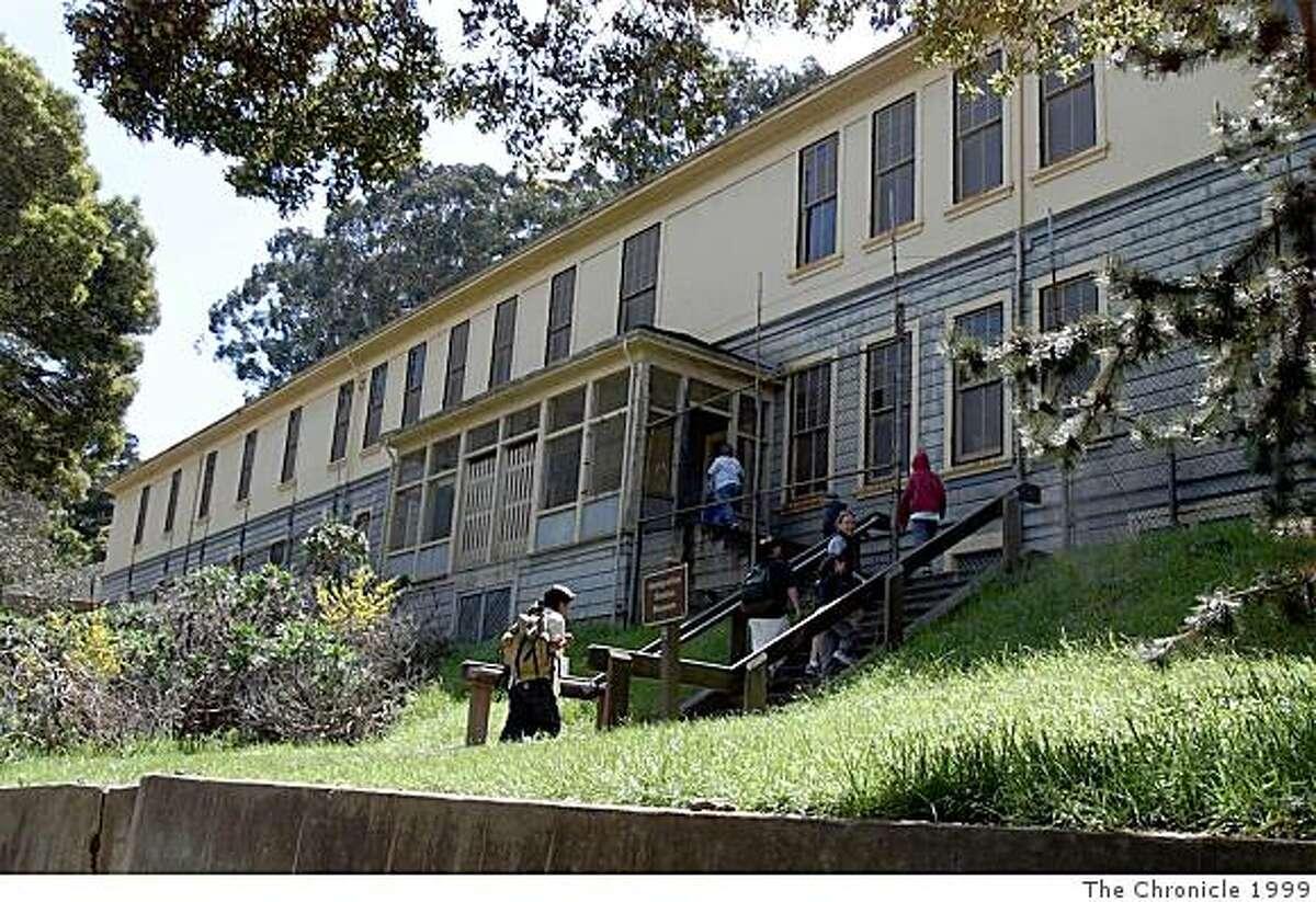 The Immigration Station barracks on Angel Island on April 2, 1999.