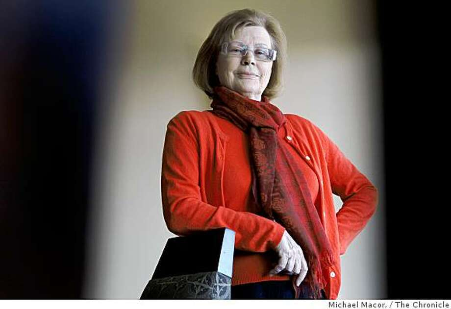 Legendary Swedish actress, Harriet Andersson, will receive the Mill Valley Film Festival award at a tribute in her honor. Andersson in her San Francisco, Calif. hotel on Friday Oct. 10, 2008. Photo: Michael Macor,, The Chronicle