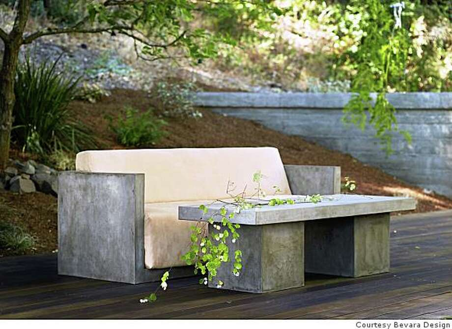 Bevara House Design Manufactures A Line Of Mostly Outdoor Furniture From Mixture Cement