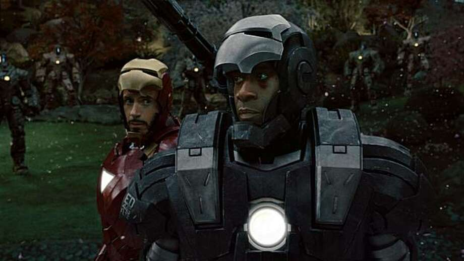 "Choice Movie (Chemistry): Robert Downey Jr. and Don Cheadle, ""Iron Man 3"" Photo: Industrial Light & Magic, Marvel Comics"