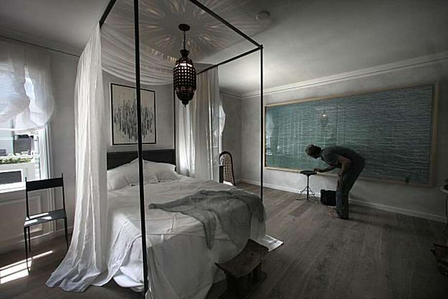 Bedroom by Will Wick  for San Francisco's Design Showcase in San Francisco, Calif., on Monday, April 26, 2010. Photo: Liz Hafalia, The Chronicle