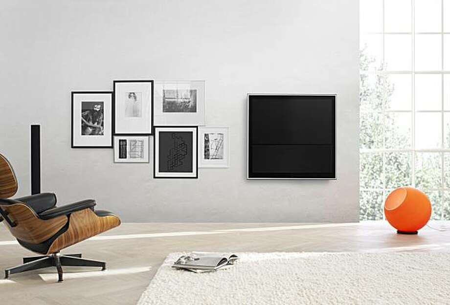The New BeoVision 10 flatscreen television from Bang & Olufsen. Photo: Bang & Olufsen