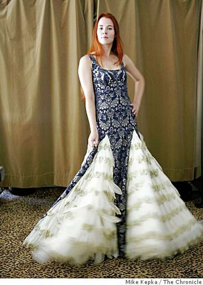 designers create condom gowns for benefit sfgate