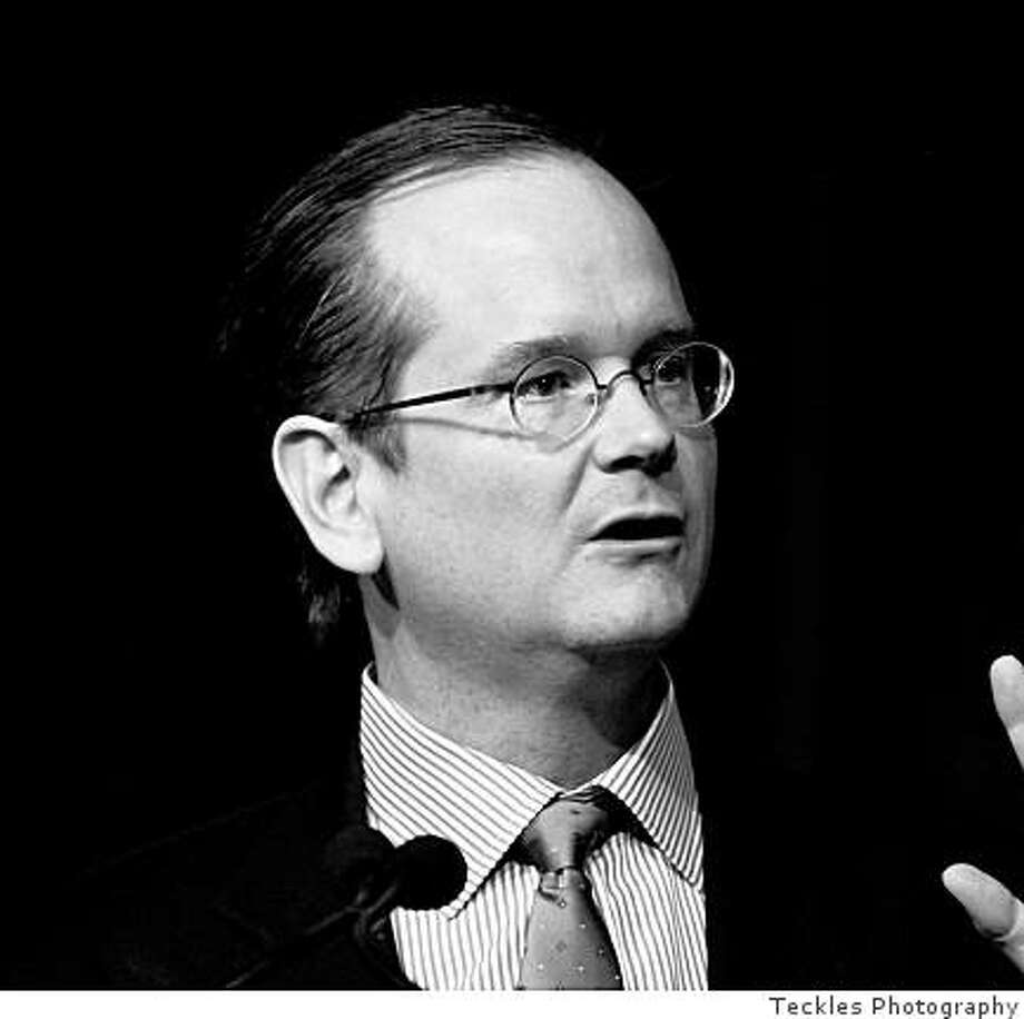 "Lawrence Lessig, author of ""Remix"" / Teckles Photography / FOR USE WITH BOOK REVIEW ONLY Photo: Teckles Photography"
