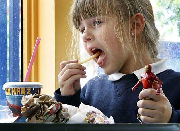 Fast Food Toys : Santa clara county says no to fast food toys sfgate