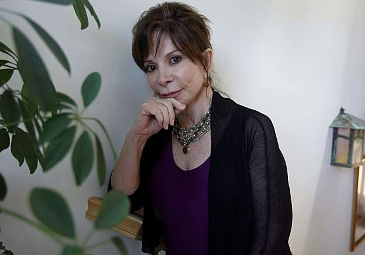 """Author Isabel Allende talks about her latest novel, """"The Island Beneath the Sea,"""" in Sausalito, Calif., on Tuesday, April 20, 2010."""
