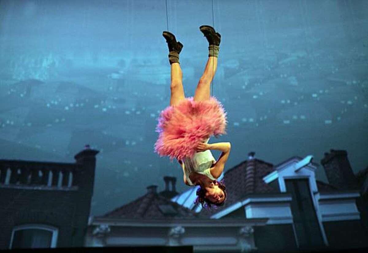 """Itxaso Moreno as Tink in """"Peter Pan."""""""