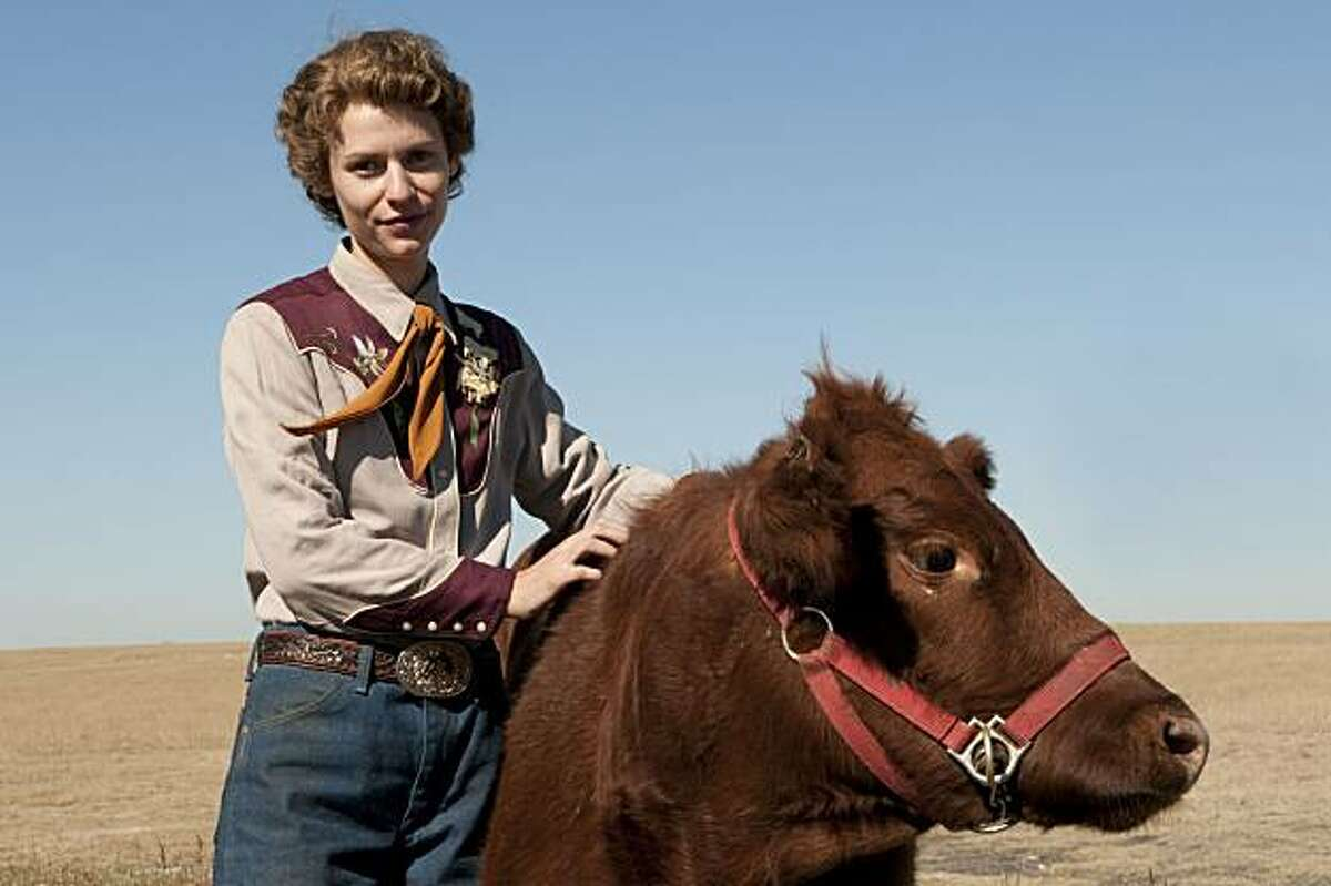 Claire Danes stars as TEMPLE GRANDIN on HBO.