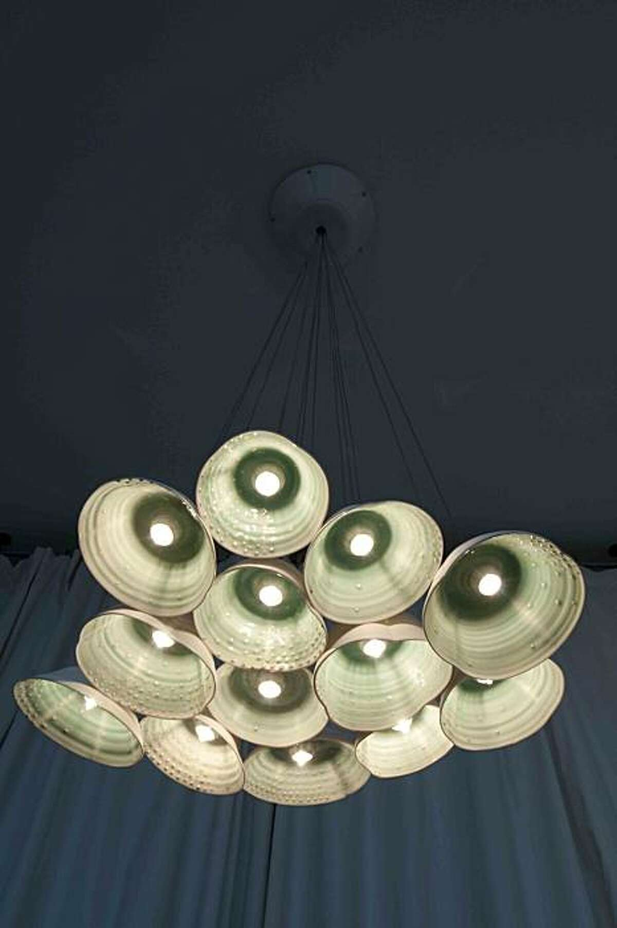 Blossom chandelier by Lesley Anton