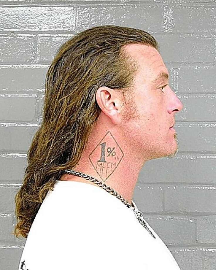Christopher Ablett, accused of murder in the Sept. 2, 2008, killing of SF Hells Angels leader Mark Guardado. Photo: Police Department, Bartlesville