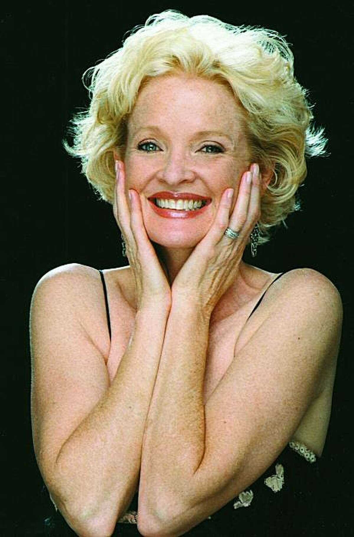 Christine Ebersole who is appearing at the Drake Hotel Empire Room