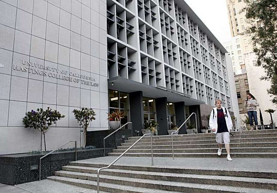 UC Hastings College of the Law in San Francisco, Calif., and a Christian club that excludes gays and lesbians battled before the U.S. Supreme Court on Monday, April 19, 2010, over whether the school must recognize and fund the group. Photo: Carlos Avila Gonzalez, The Chronicle