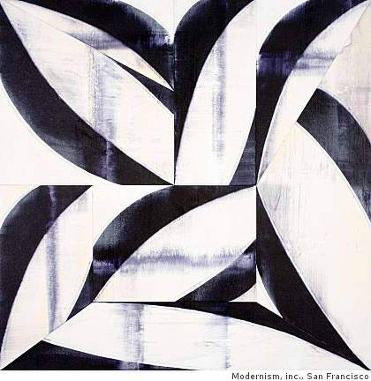 """Fragile Mind "" (2008 ) acrylic on canvas by Charles Arnoldi"