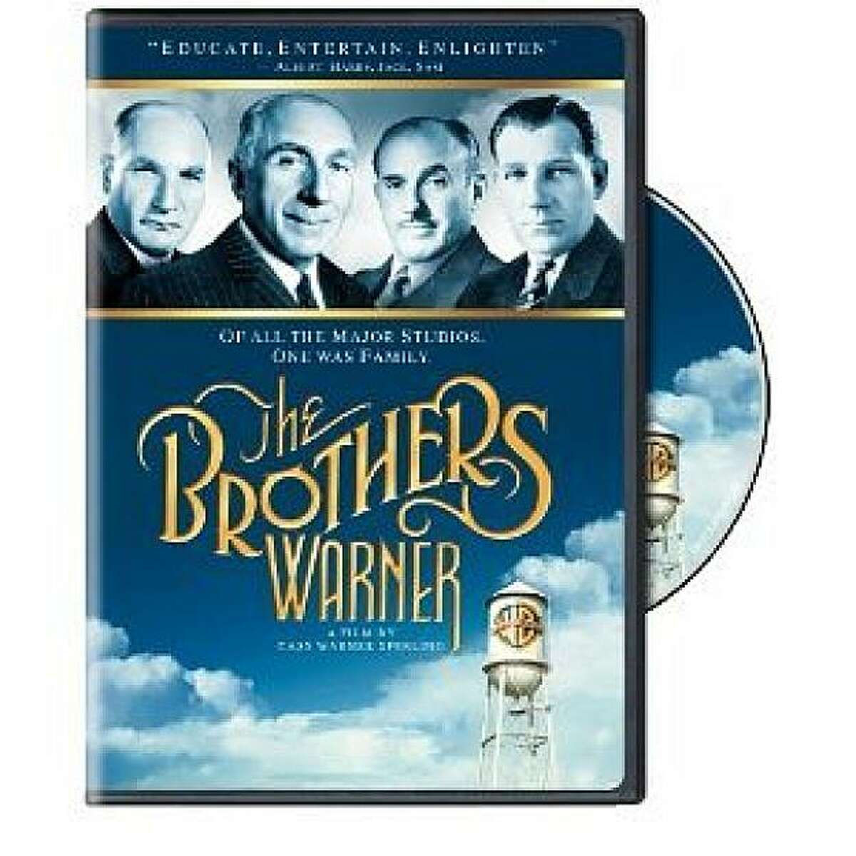 dvd cover THE BROTHERS WARNER
