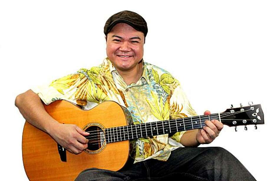 Hawaiian slack-key guitarist Patrick Landeza grew up in Berkeley. Photo: Kelvin Rama