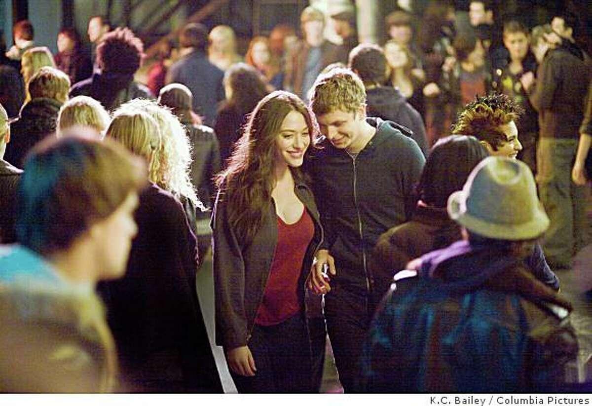 Kat Dennings and Michael Cera star in