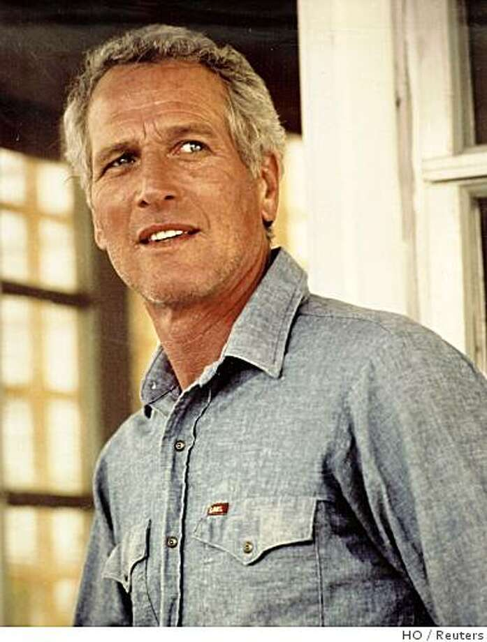 Actor Paul Newman is shown in this undated file photograph. Legendary film star Newman, whose brilliant blue eyes, good looks and talent made him one of Hollywood's top actors over six decades, has died, a spokesman said on September 27, 2008. He was 83 and had been battling cancer.  REUTERS/Handout  (UNITED STATES).  NO SALES. NO ARCHIVES. FOR EDITORIAL USE ONLY. NOT FOR SALE FOR MARKETING OR ADVERTISING CAMPAIGNS. Photo: HO, Reuters