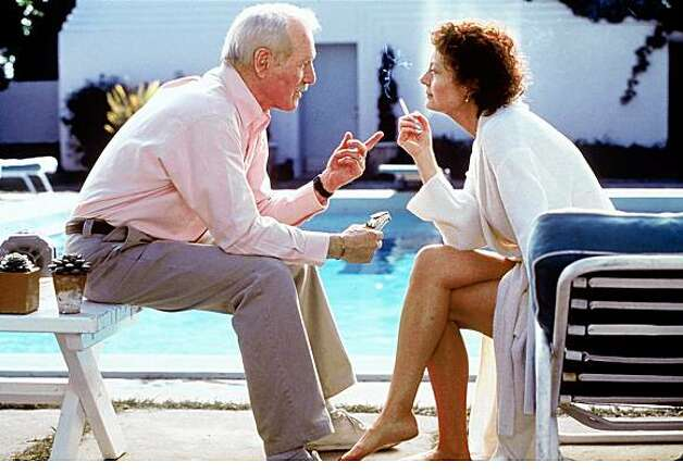 "Susan Sarandon plays a fading former movie star and Paul Newman is a friend caught in a dangerous scheme in the movie, ""Twilight"""