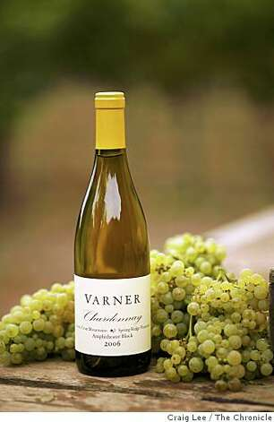 2006 Varner Chardonnay, Spring Ridge Vineyard, Amphitheater Block, in Portola Valley, Calif., on September 10, 2008. Photo: Craig Lee, The Chronicle