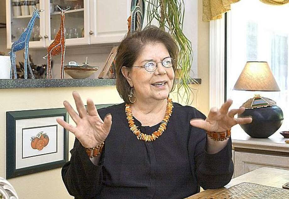 FILE - This  May 4, 2004 file photo shows former Cherokee Nation Chief Wilma Mankiller during an interview in Stilwell, Okla. Mankiller, who was one of the few women ever to lead a major American Indian tribe, died Tuesday April 6, 2010 after battling pancreatic cancer. She was 64. Photo: Jerry Willis, AP