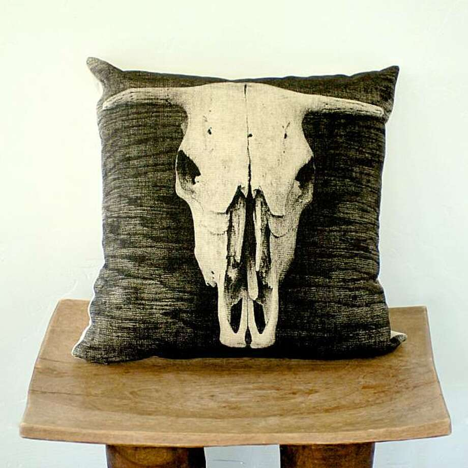 Archival Decor's Bovine pillow Photo: Archival Decor