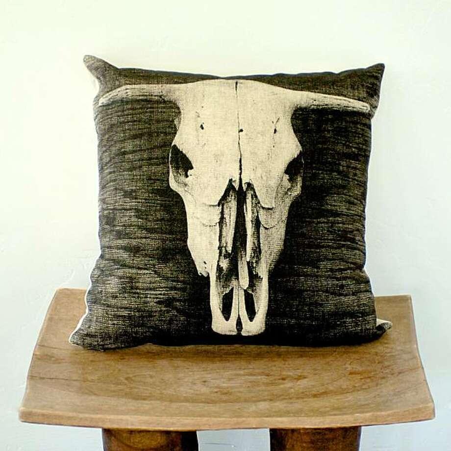 Archival Decor's Bovine pillow Photo: Archival Decor