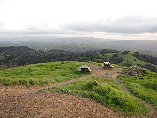 Site: North Gate, Sout Gate and Summit Roads, Mount Diablo State Park. Location: Livermore Valley Overlook Photo: Stephanie Wright Hession